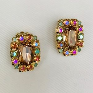 🆕 SORRELLI Semi Precious Stone Stud Earrings